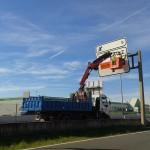 Montajes con camiones grúa