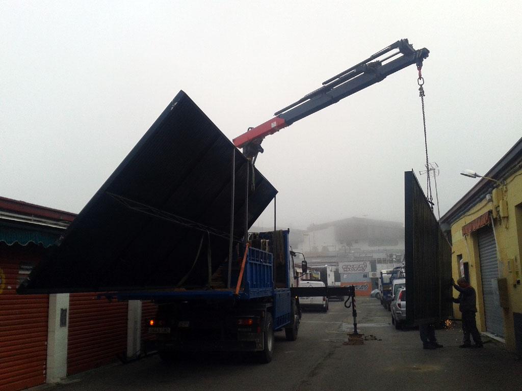 Elevación de maquinaria y piezas de alto tonelaje